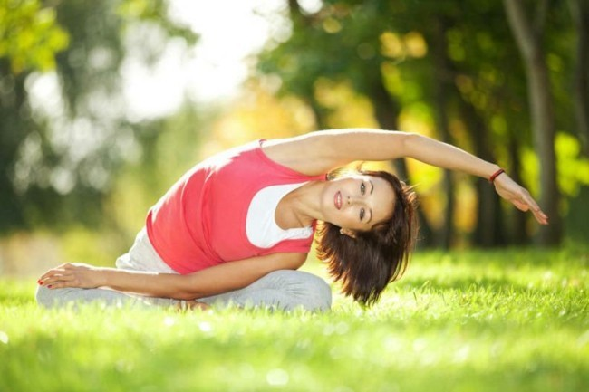 yoga gymnastik gesund abnehmen tipps