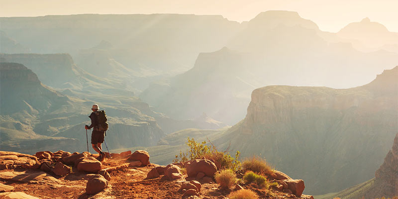 Abenteuer sehenswerte Orte Grand Canyon raue Naturschönheit