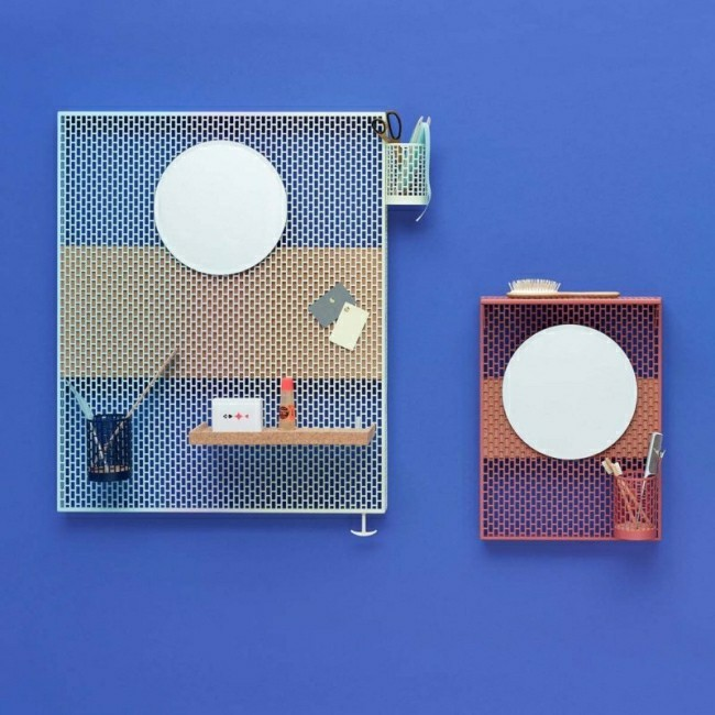 Badezimmerspiegel gitter und kleine spiegel