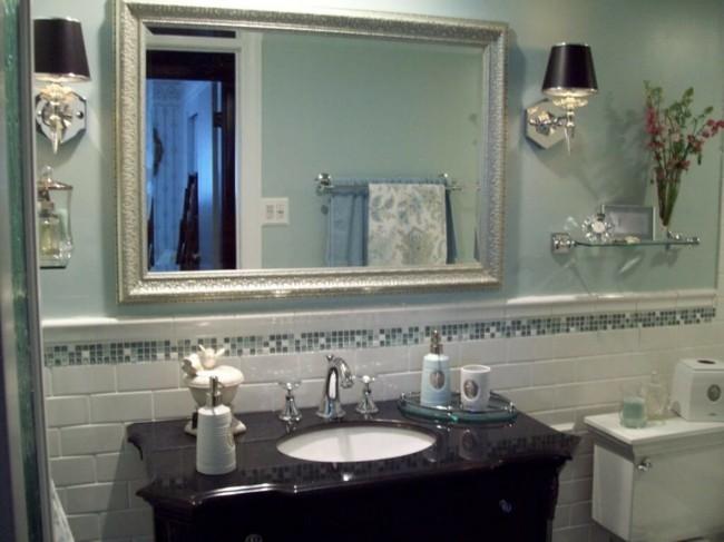 Badezimmerspiegel großflächige abdeckung