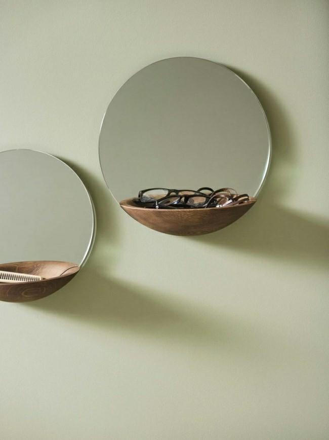 Badezimmerspiegel mit verstaumöglichkeiten