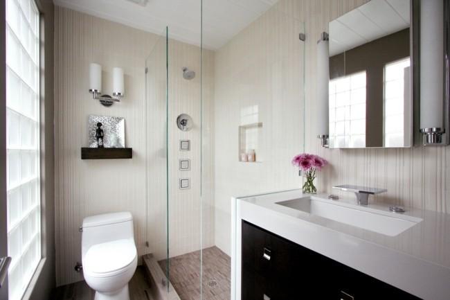 Badezimmerspiegel rahmenlose flächengestaltung