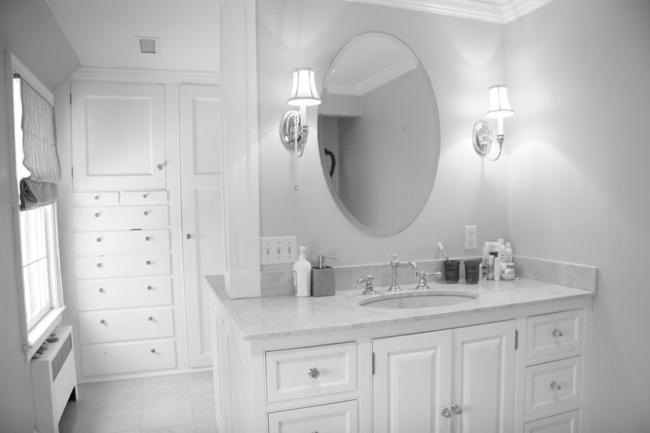 Badezimmerspiegel rund und nahtlose ideen