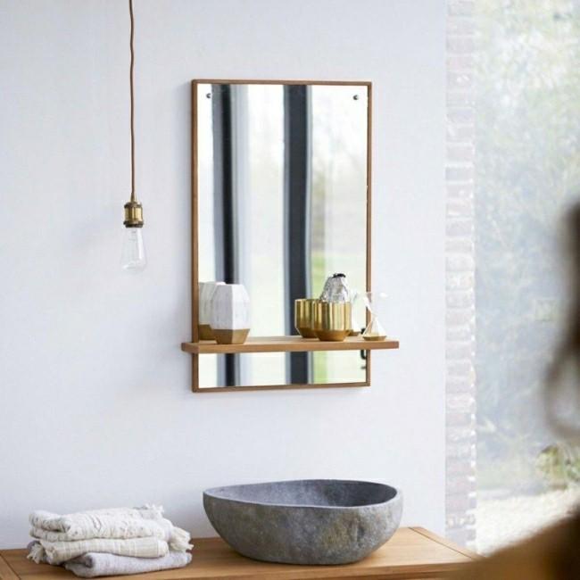 Badezimmerspiegel tolle dezente deko