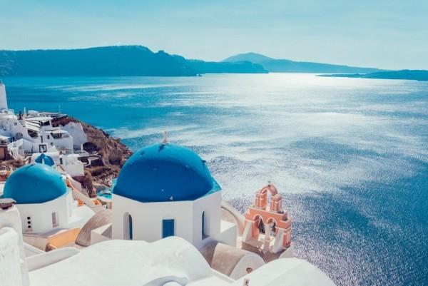 Bester Urlaubsort Santorini Insel Griechenland