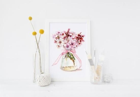 Blumenmotive Muttertagsgeschenke
