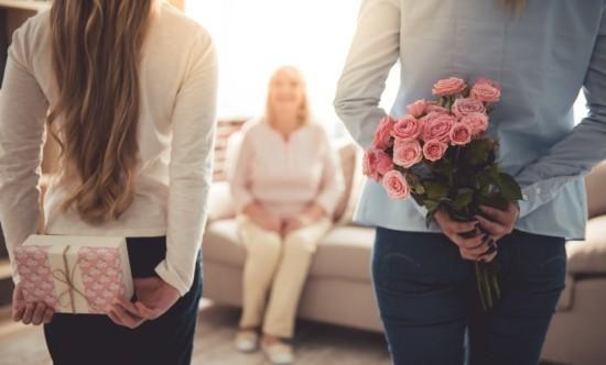 Blumenstrauß kleines Geschenk