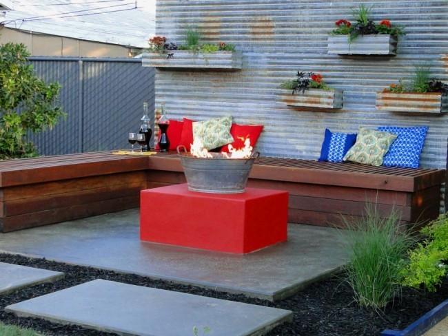 Feuerstelle im Garten ideen