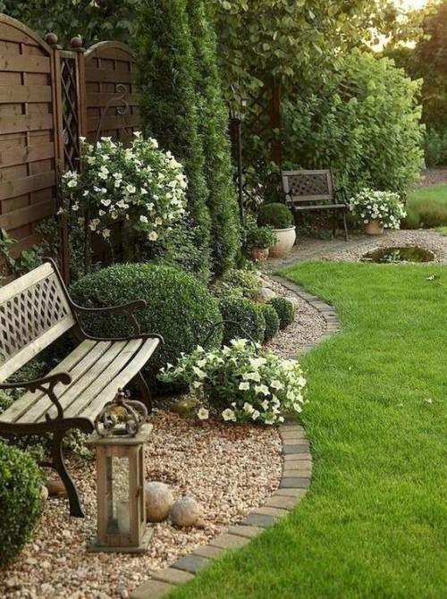 Gartengestaltung Ideen kleine Ruhe-Oase