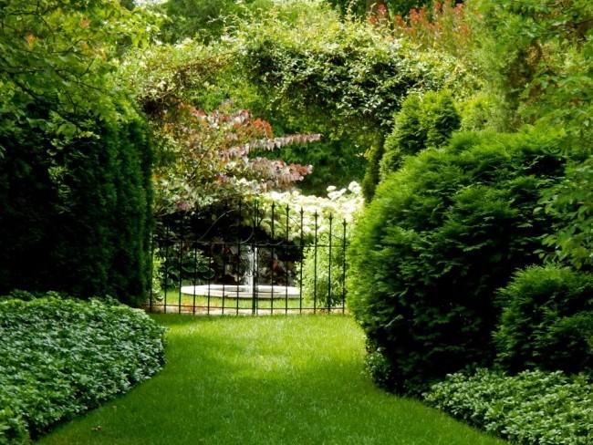 Gartentür ideen