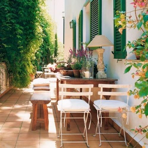 Gestaltung Ideen gemütliches Outdoor-Wohnzimmer