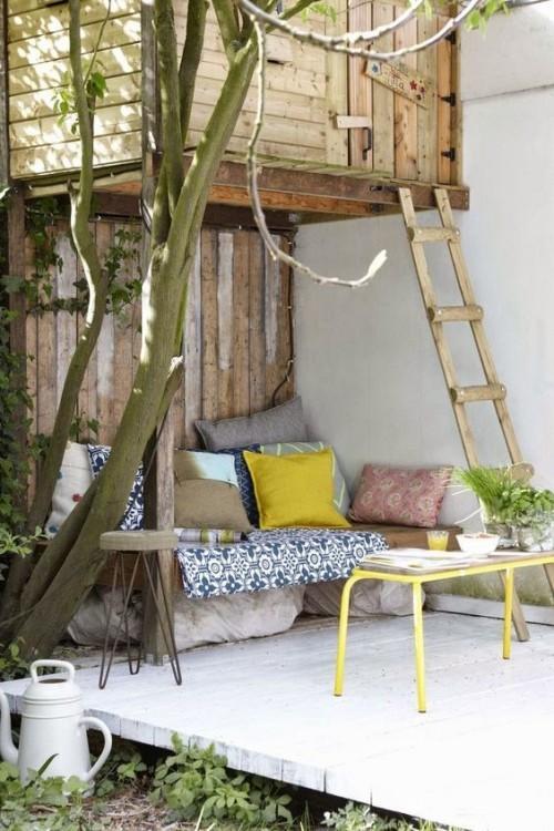 Gestaltung Ideen kleine Gärten einfache Mittel einladend wirken