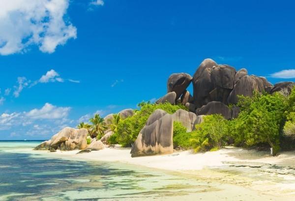 Malerische Küsten verlocken Touristen Sansibar Abenteuer Reise