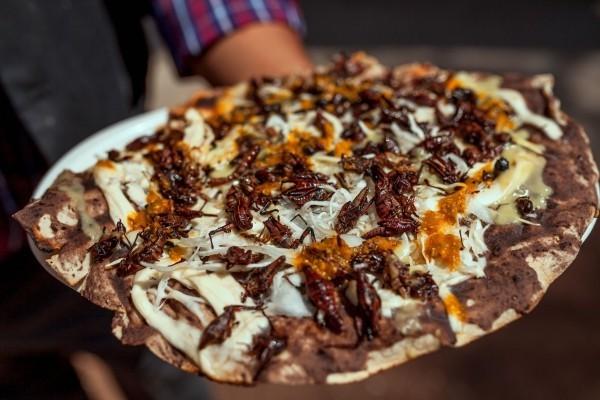 Mexikanische Chorizo Pizza