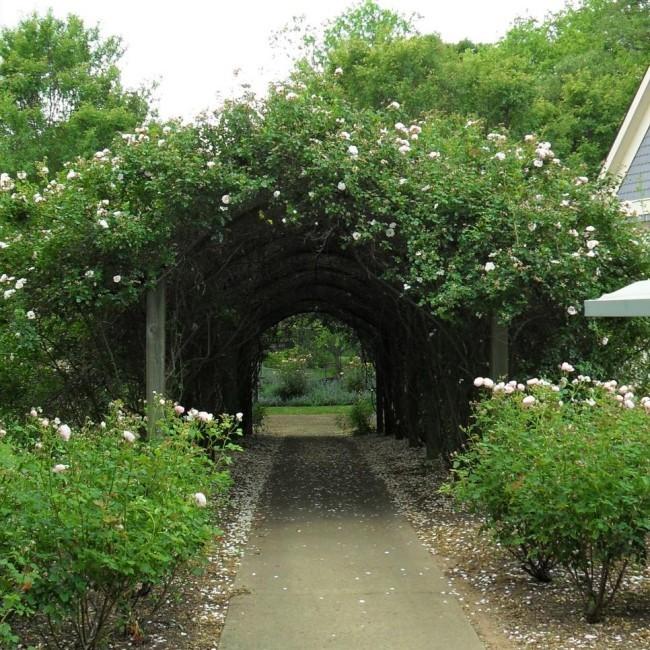 Moderne Garten Idee Gartentor