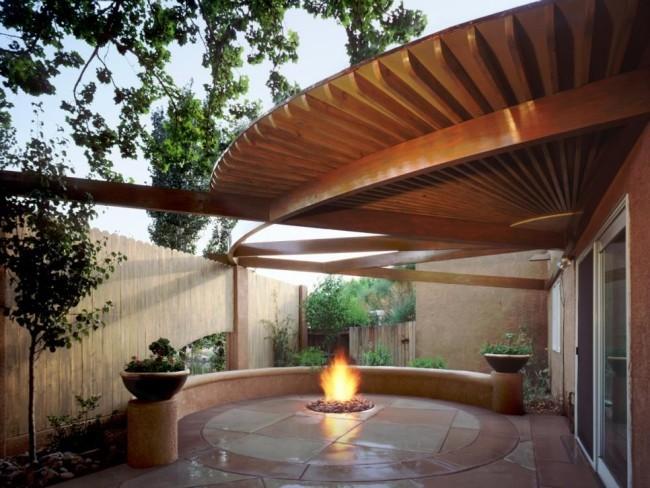 Moderne Outdoor Gestaltung