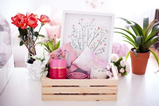Muttertagsgeschenke Blumen Blumenmotive