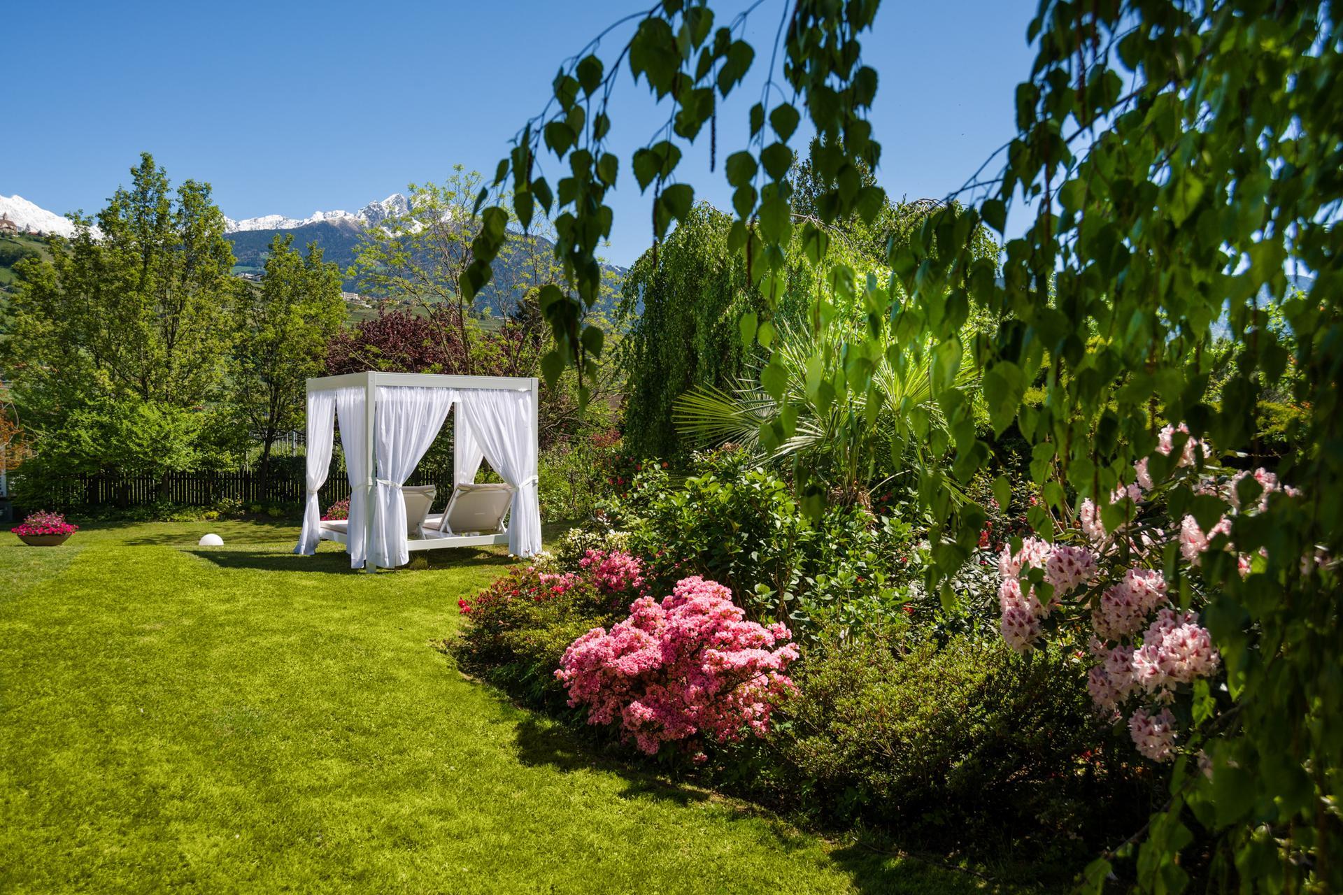 oase der ruhe im kleinen garten - fresh ideen für das interieur