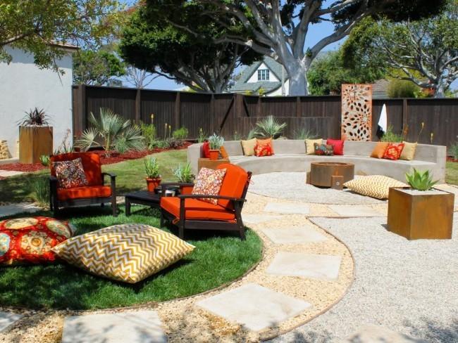 Outdoor Möbel viele Plätze Relax Zone