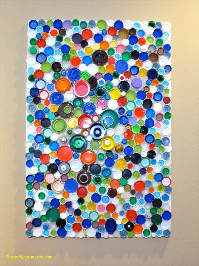 Recycling Basteln mit Plastikbechern bilder bunt