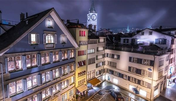 Reiseziel Urlaubsort Zürich Schweiz Unterkunft Le Bijou Penthouse