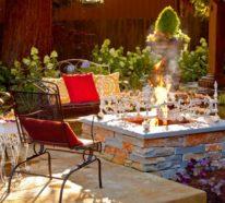 Feuerstelle im Garten oder wie kann man einen Traum verwirklichen?