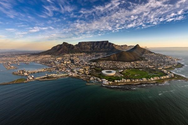 Sehenswert Tafelberg Urlaubsort Südafrika