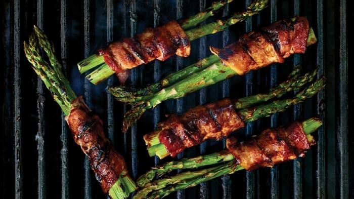 Spargel richtig kochen spargelzeit spargel gesund im speck ummantelt