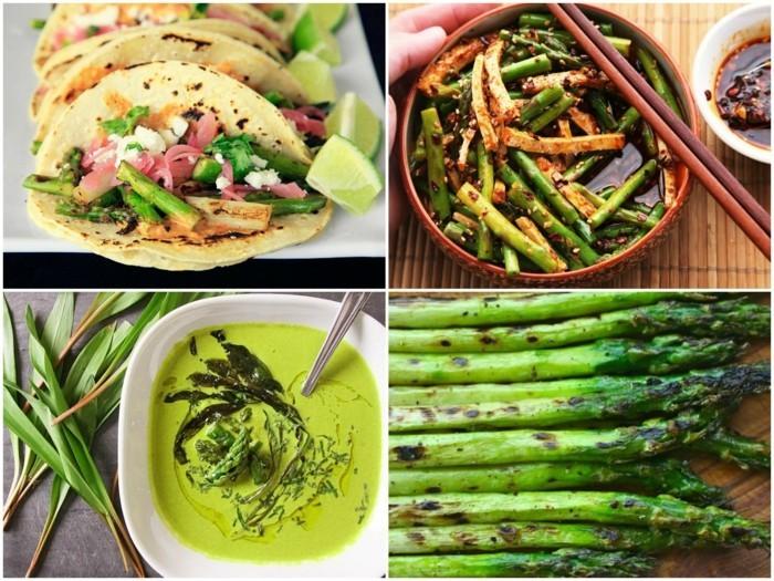 Spargel richtig kochen spargelzeit spargel gesund spargelsalat gruen