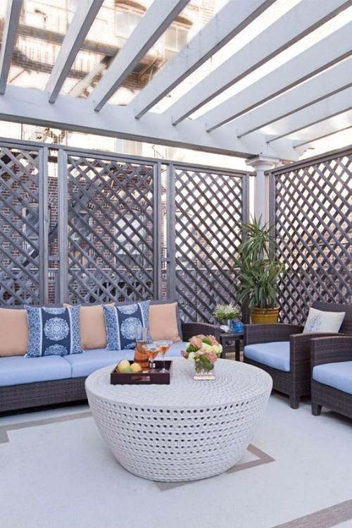 Stilvolle Gestaltung Ideen kleine Gärten