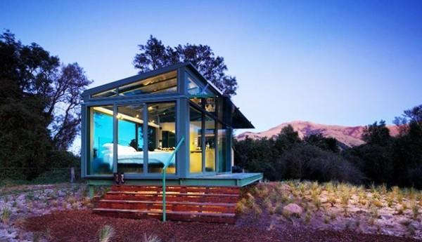 Ungewöhnlicher Urlaubsort Glashütte Neuseeland passend Schützen