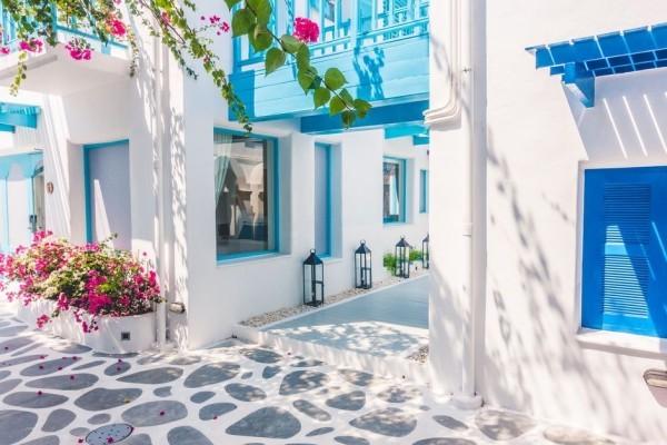 Viel Kultur Geschichte Natur pur Sanorini Griechenland bester Urlaubsort