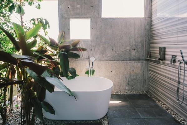 ansprechende badezimmereinrichtung moderne architektur