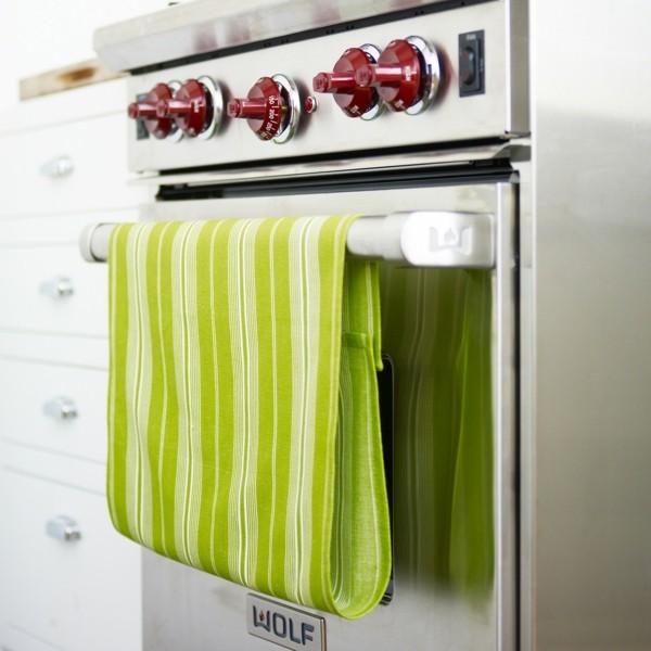 aufpeppen der küche mit geschirrtüchern