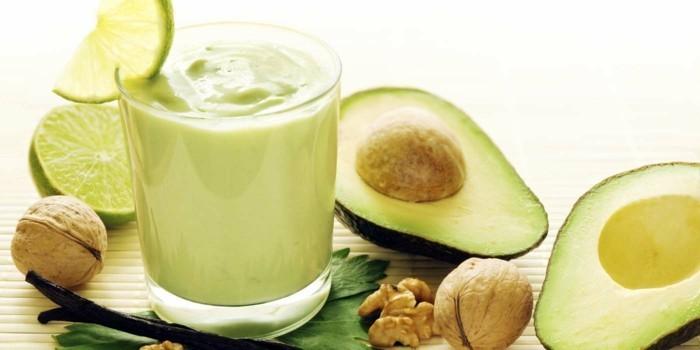 avocado smoothie rezepte zum abnehmen