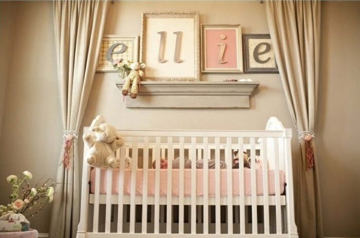 40 babyzimmer deko ideen f r ein liebevoll ausgestattetes. Black Bedroom Furniture Sets. Home Design Ideas