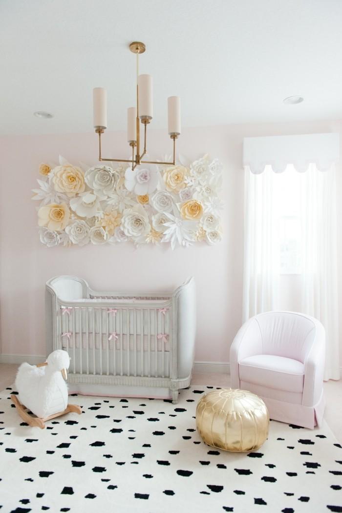 babyzimmer deko ideen moderner bodenbelag helle farben harmonie