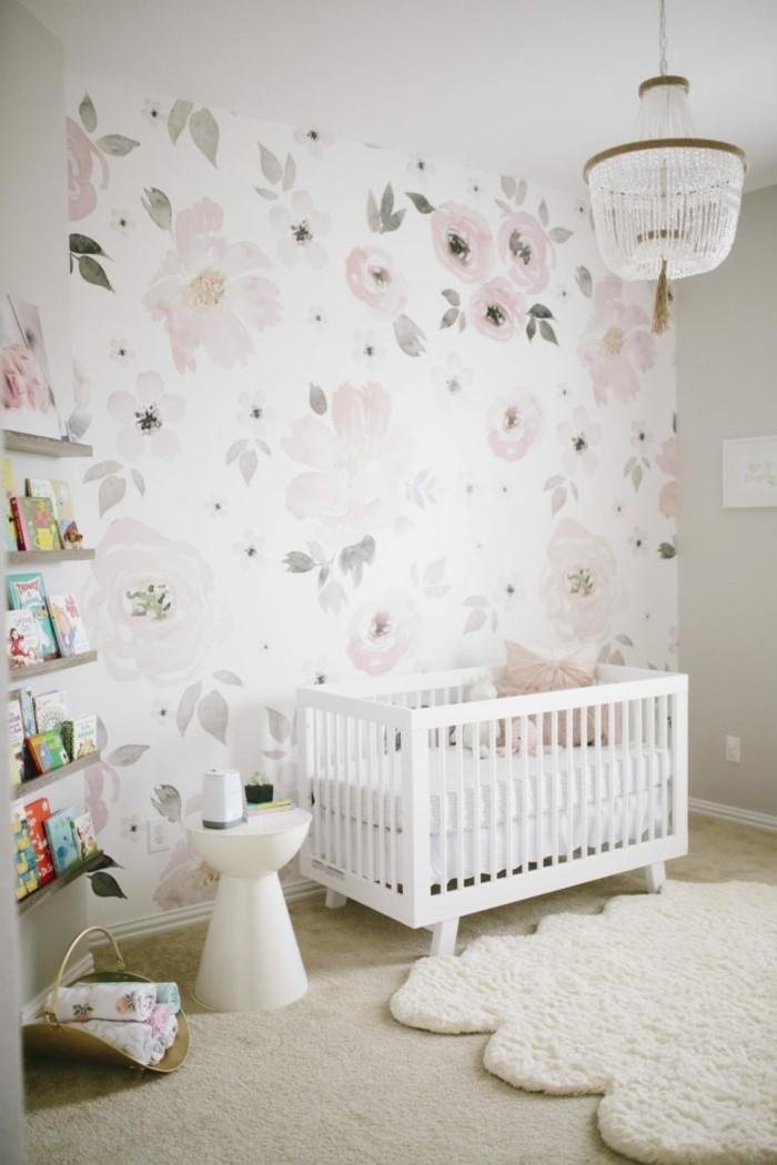 babyzimmer farben mädchen helle farben