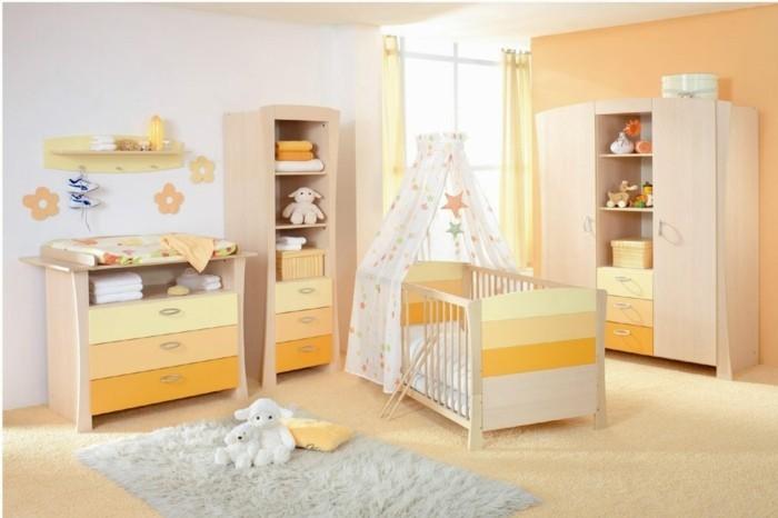 babyzimmer farben warme farben teppichboden