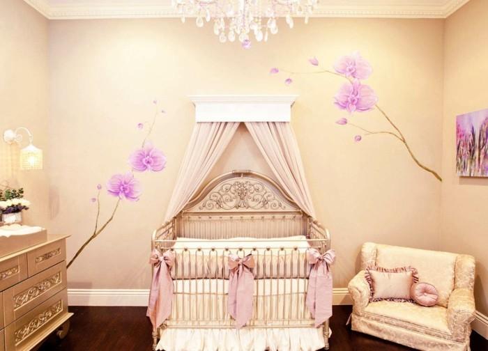 babyzimmer ideen mädchen luxuriöses innendesign