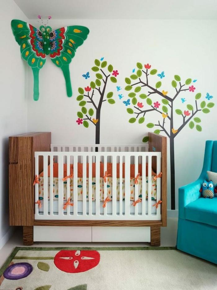 babyzimmer ideen modernes interieur frische wandgestaltung