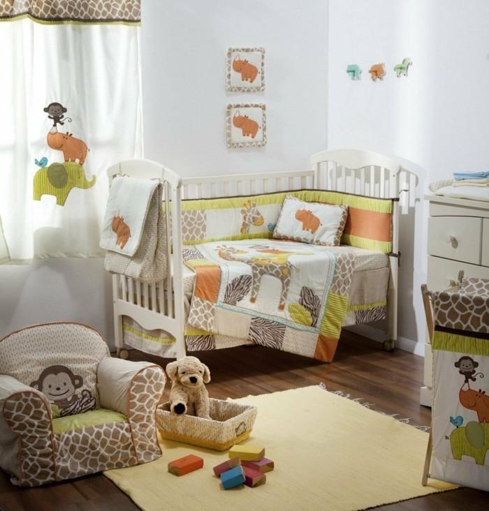 babyzimmer ideen thematische gestaltung beigenuancen