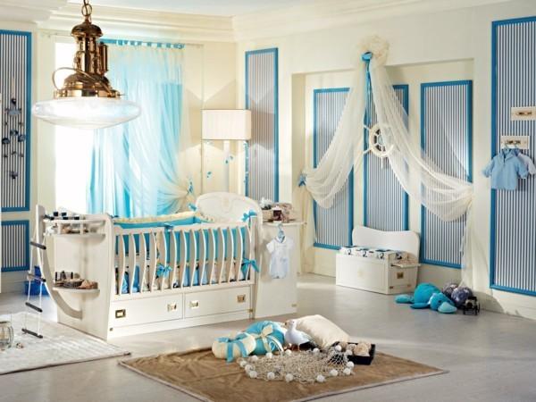 Babyzimmer Junge Ideen Blaue Akzente Beige Farbnuancen 24 Babyzimmer Junge  Ideen, Wie Sie Das Beste Aus Diesem Raum Machen ...