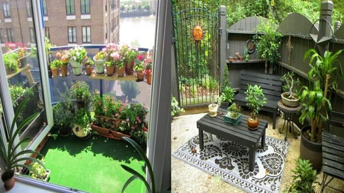 balkon ideen selber machen gartengestaltung terrassengestaltung praktische ideen raumnutzung ideen
