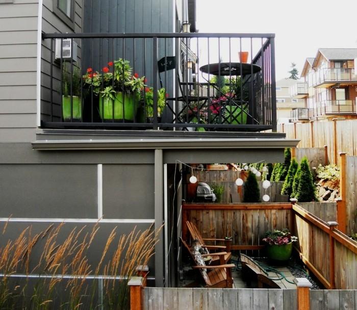 balkon ideen selber machen gartengestaltung terrassengestaltung praktische ideen upcycling ideen klein balkon