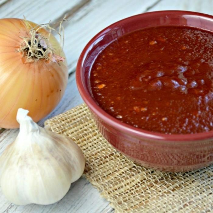 dips zum grillen einfache gesunde rezepte rot