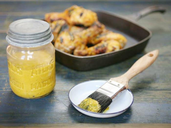 dips zum grillen einfache gesunde rezepte senf scharf