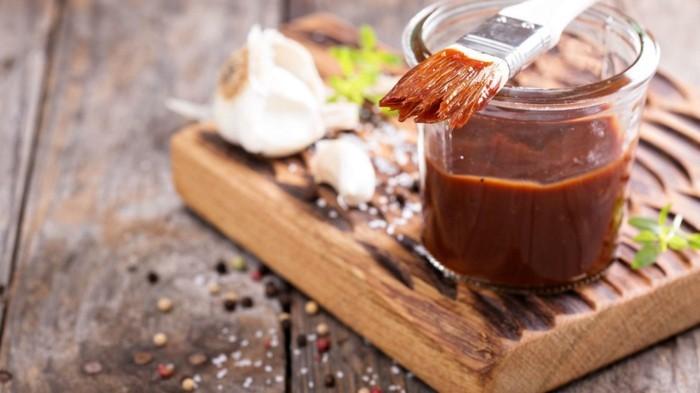 dips zum grillen einfache gesunde rezepte zubereitung dunkel rot