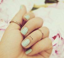 50 Kleine Tattoos Frauen Die Schönsten Motive Mit Bedeutung