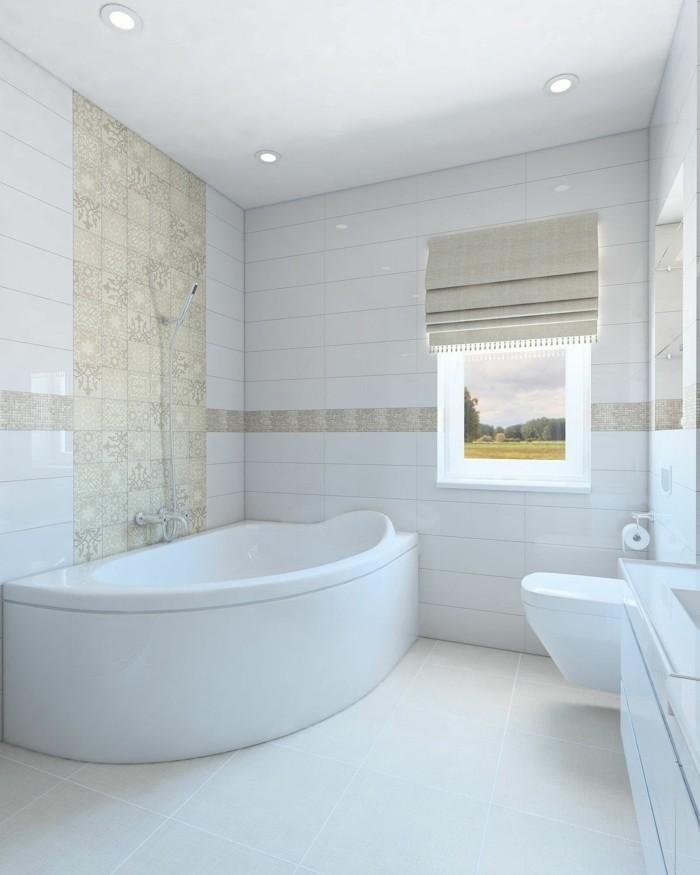 Modernes Feuchtraumboden Für Badezimmer Bodenbelag Abdichten Stil: Eine Eckwanne Bietet Ihnen Den Erwünschten Komfort Und